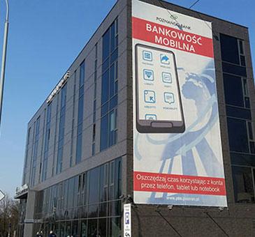szpachlowanie w obiekcie biurowym w Poznaniu
